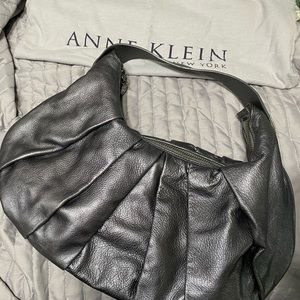 Anne Klein leather handbag